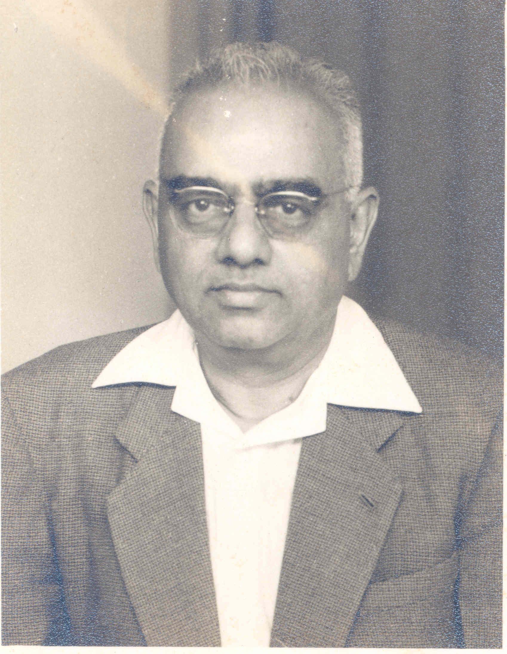 Profile image of Govindaswamy, M V